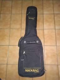 Bag capa para contrabaixo Rockbag Rb 20705B Warwick- aceito proposta / cartão