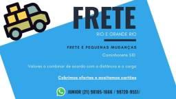 Mudanças e frete Rio de Janeiro