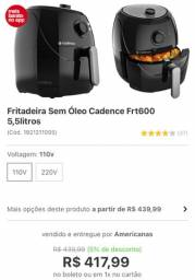 Fritadeira Elétrica Cadence 5,5 L