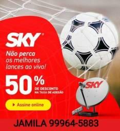 Promoção Sky 50% de desconto