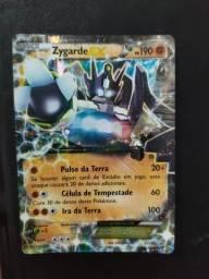 Carta pokémon Zygarde EX Copag Oficial