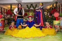 Festa Branca de Neve Príncipe Rainha Má