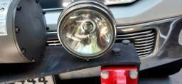 Farolete redondo, grande, universal, lâmpadas comuns