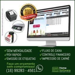 Título do anúncio: Sistema PDV, Controle Entradas, Estoque, Caixa, etiquetas - Araçatuba