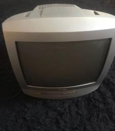 Tv Philips 14 polegadas Vintage com controle