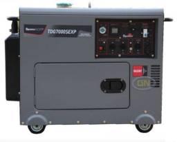 Novo: Gerador Disel 6KVA Toyama com Painel de Transferência Automático Toyama