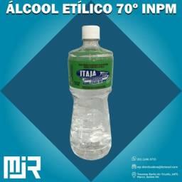 alcool 70º Liquido de 1 litro Cx com 12 Itaja