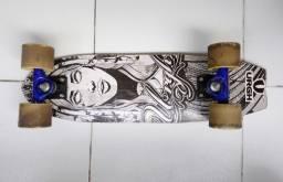 Skate shape Urgh refeito e rodas moska speed