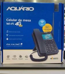 Telefone Celular De Mesa Wi-Fi 4G Aquário - Ca-42s