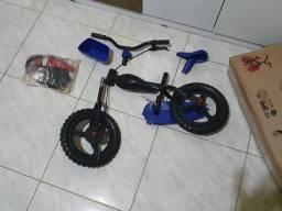 Bicicleta styllkids literalmente nova