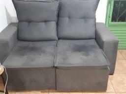 Vende-se sofá retratil e reclinavel, seminovo, poucos meses de uso