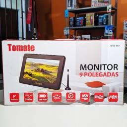 Monitor TV 9 polegadas - Original tomate