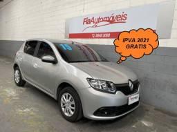 Renault Sandero Expression 1.0 Flex Completo 2015