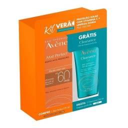 Título do anúncio: Kit Protetor Solar Avéne com Cor + Sabonete Líquido Facial <br><br>