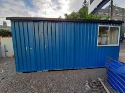 Container de Escritório com banheiro Externo