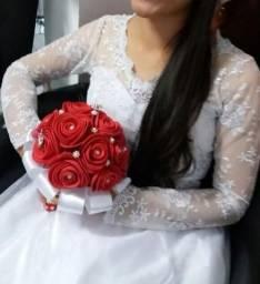 Vestido de noiva passo no cartão