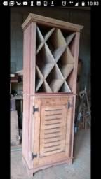 Adega rustica em cedro a pronta entrega