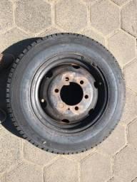 Vendo roda e pneu novo
