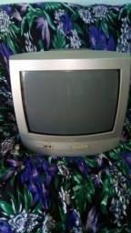 Televisão de tubo Phillips 14 polegadas FUNCIONANDO