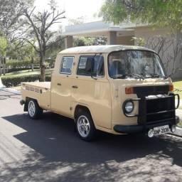 Kombi cabine dupla diesel raridade - 1983