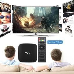 Tv Box Tx2 sua Tv Smart