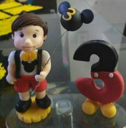 Topo de bolo tema Mickey para doação