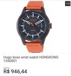53a85996afe Relógio original Hugo boss quem conhece sabe que é bom esse preço é da loja