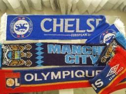 Mantas originais europa - Chelsea, City e Lyon