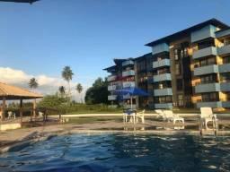 Flat no gavôa resort com 1 dormitório à venda, 40 m² por r$ 160.000 - vila rural - igarass