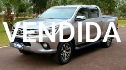 Toyota Hilux SRX 4x4 Automática Top De Linha - 2016