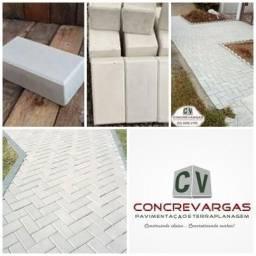 Piso holandes/ concreto/ calçadas