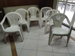 Cadeira de Plástico Branca