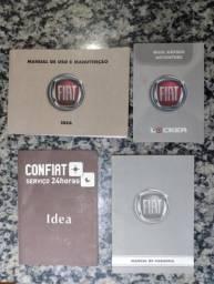 Manual do proprietário Idea adventure/Palio/Siena/Strada/weekend/gol/Parati/7-110s/7-90s