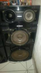 Caixa de som da sony Genezi