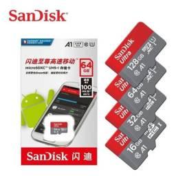 Guarda os melhores momentos. Cartão memória MicroSD SanDisk ULTRA. Confira!!!