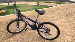 Bicicleta aro 24, 18 marchas
