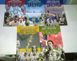 HQ The Walking Dead vol 1 ao 5