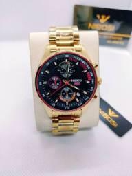 Relógio NIBOSI Série Ouro
