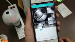Lâmpada câmera ip Wi-Fi