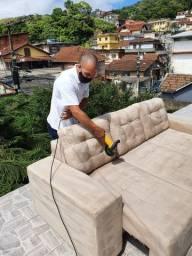 Limpeza de sofá em Areal