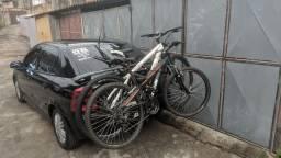 Suporte de bicicleta semi-novo aceito cartão e parcelo