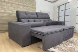 Preço baixo e qualidade só aqui, por apenas R$ 1.050,00 Sofá retratil e reclinavel 2mts!