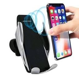 Carregador Veicular Qi Smart Sensor Wireless Charger S5 ???