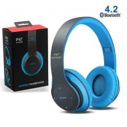 Fone de Ouvido Sem Fio Bluetooth P47 (NOVO)