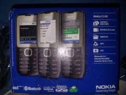 Celular Nokia C2 -00 Novo só $99,00