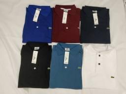 Kit c/2 Camisas Polo Masculina Plus Size G1, G2 e G3 Lindas!!