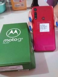 Motorola G8 Play Zerado Completo na Caixa/Nota Fiscal Garantia