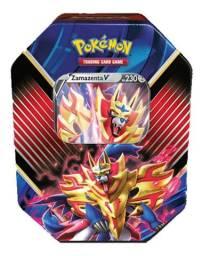 Pokémon Tcg Pokebola Latas Lendários De Galar - Zamazenta V