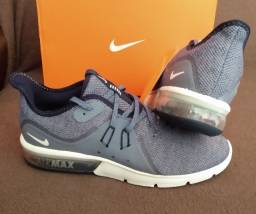 Tênis Nike Air Max Sequente 3 cinza Tam 39, 40, 41 & 42 (original / novo)