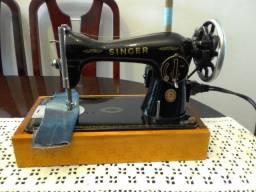 Maquina de Costura Antiga Singer, Costurando bem, um ponto bem regulado